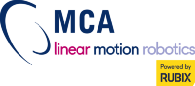 logo MCA linear motion robotics