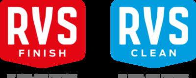 logo RVS Finish & RVS Clean