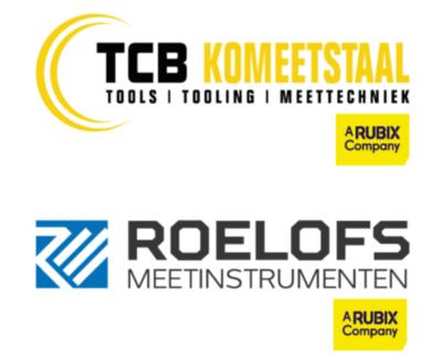 logo TCB Komeetstaal Roelofs Meetinstrumenten