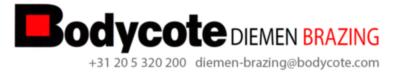 logo Bodycote Diemen Brazing